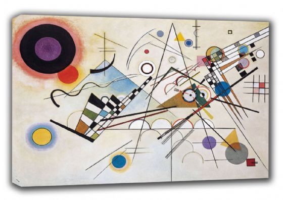 Kandinsky, Wassily: Composition VIII. Fine Art Canvas. Sizes: A3/A2/A1 (00526)